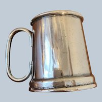 Vintage Mug Style Silver-plated Jigger By Raimond