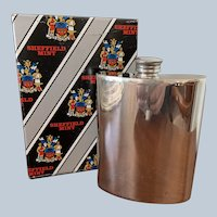 English  Wentworth Pewter Flask (3 Available)