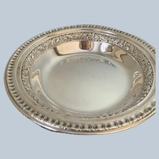 Pair of Reed and Barton Silver-plated Wine Coasters
