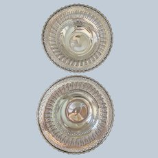 Pair Of Ellis Barker Pierced and Reticulated Compotes C:1912-1921