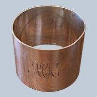 E.J. Houlston Sterling Napkin Ring C:1945