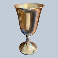 Pair Of New Salisbury Pewter Water Goblets
