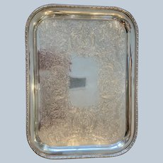 Ellis Barker Rectangular Tray With Engraved Field
