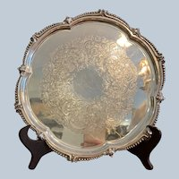 "Ellis Barker 11"" Scalloped Border Tray"