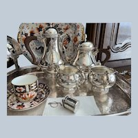 4 Piece Ellis Barker Tea/Coffee Set C:1936