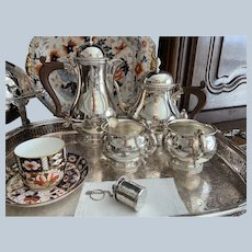 4 Piece Ellis Barker Tea/Coffee Set C:1936