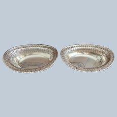Ellis Barker Oval Dish C:1912 (2 Available)
