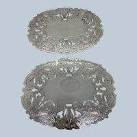 Vintage Wallace Silver Plated Trivet 2 Available