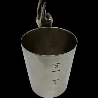 Napier Two Finger Jigger C:1930