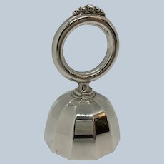 Webster Sterling Dinner Bell