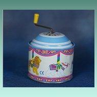 GERMAN Wonderful Tin Litho Musical Wind Up Box