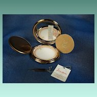 VINTAGE Stratton Initial Compact With Key To Change Initial