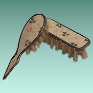 RARE Miniature Lithograph Doll ORIGINAL Boars Hairbrush Set
