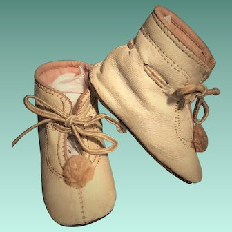 Antique Doll BOOT SHOES For Jumeau, Steiner, Kestner, Bru and other French and German Special Dolls