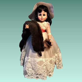 Madame Alexander 1950-60'S CoCo Scarlett Doll ABSOLUTELY STUNNING