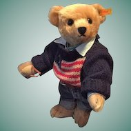"Vintage Steiff Best Dressed Teddy Bear Ralph Lauren Limited Edition ""The American Bear"""