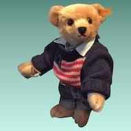 "Vintage Steiff Best Dressed Teddy Bear Ralph Lauren Limited Edition ""The American Bear"""