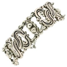 "Vintage William Spratling Taxco ""980"" Sterling Vindobonensis Bracelet"