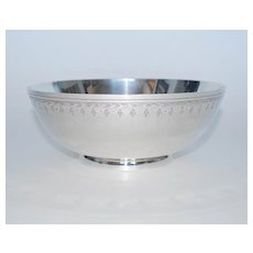 "Sterling Silver Fruit Bowl, ""Frank Whiting & Co."", Vintage"