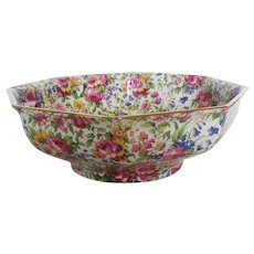 Vintage Chintz Bowl, Royal Winton
