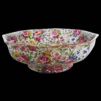 Vintage Chintz Bowl, Royal Winton