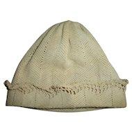 Vintage Effanbee Dy-Dee Rare Mold 1 Era Infant Cap