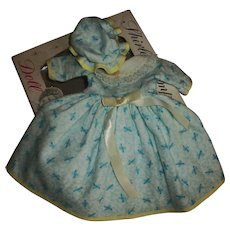 Ideal Shirley Temple Flannel Nightie With Cap & Box!  Nice!!