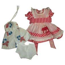 "Vintage Arranbee Romper~School Dress~Panties For 14"" HP Girls"