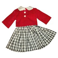 Vintage Ideal Original Dress With Jacket For Miss Ideal Doll