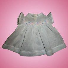 """Vintage Effanbee~13""""Dy-Dee-Kin~ Dy-Dee Baby Dress"""