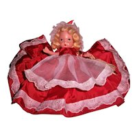 Nancy Ann Storybook Bisque Jointed Leg Pudgy Tummy #185 Saturday's Child