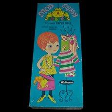 Vintage 1969 Whitman ~Mod Missy~Boxed Uncut Paper Doll Set