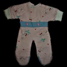 """Most Adorable Vintage Factory Sleeper For 11"""" Tiny Tears or Betsy"""