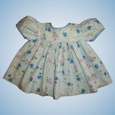 """Pretty Factory Vintage Love and Flowered Dress For Effanbee 15"""" Dy-Dee Jane and Friends"""
