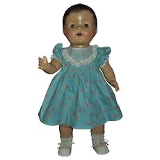 Adorable Unmarked All Composition Toddler Doll