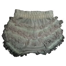 """Vintage Fancy Ruffled Panties For 13""""-14"""" Tiny Tears, Betsy Wetsy and Friends"""