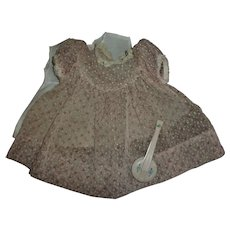 "Mint! Effanbee 15"" Dy-Dee Dress With Slip and Rattle"