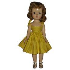 """Vintage 1950's Madame Alexander 15"""" Hard Plastic Walker"""