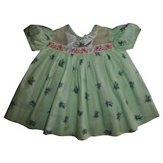 "Pristine! Mint! American Character Tiny Tears ""I Love You"" Dress"