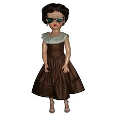 "Vintage Arranbee Nanette 18"" 1950sFashion Doll All Original"