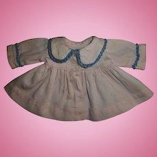 """Vintage Effanbee 11""""Dy-Dee Pink Twill Coat"""
