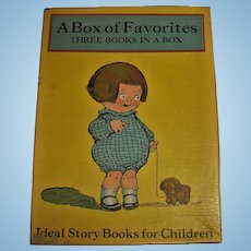 Vintage Ideal Story Books Boxed Set of Three Small Books