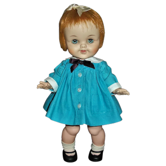 "Early 60's Madame Alexander Smarty 12"" Toddler"