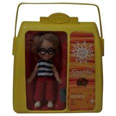 Vintage Remco Spunky Pocketbook Doll Heidi's Playmate