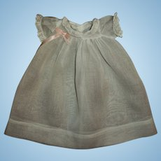 "MINT!  Tagged Effanbee Organdy Gown For 11"" Dy-Dee"