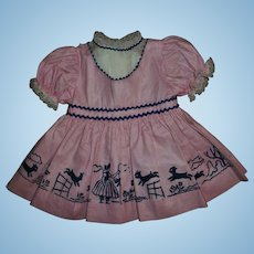 """Ideal Factory Original """"Little Bo Peep"""" 22"""" Saucy Walker Dress"""