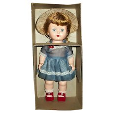 MINT! In Box HP Nancy Ann Debbie Doll Wearing Complete Organdy Outfit