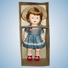 MINT! In Box HP Nancy Ann Debbie Doll Wearing Complete Organdy Outfit