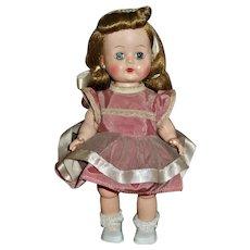 "Prettiest Unmarked 10.5"" HP Toddler Bent Knee Walker Doll"