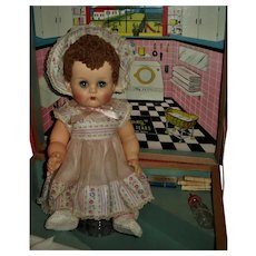 RARE Ideal  ALL Detergent Laundry Room Betsy Wetsy Doll and Case